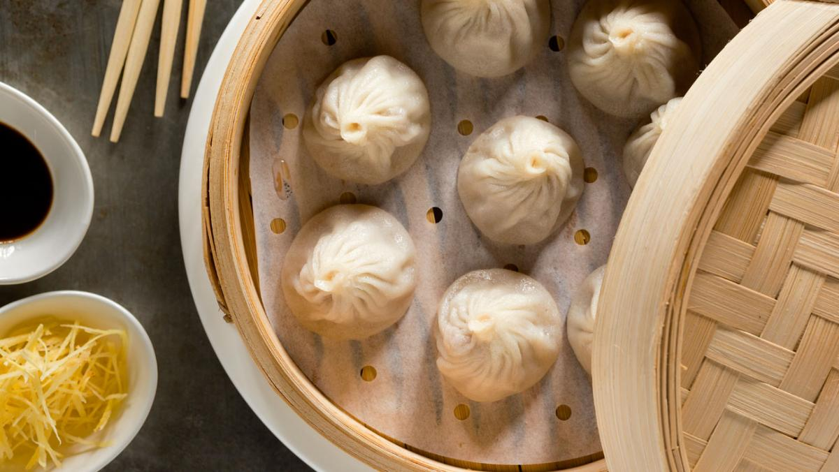 New Shanghai pork dumplings