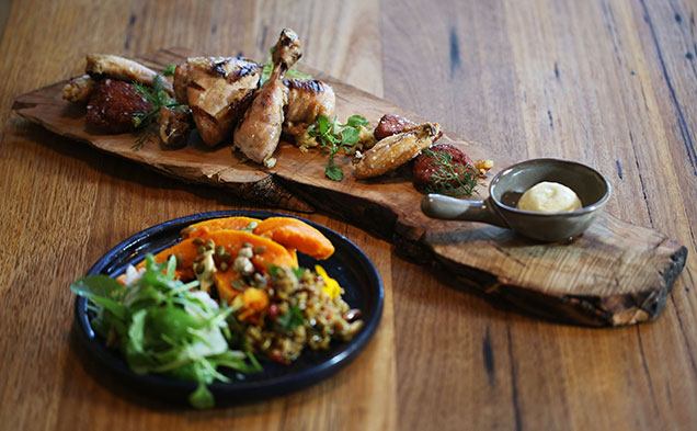 Chicken from the Piggery Cafe, voted best cafe in Melbourne 2015
