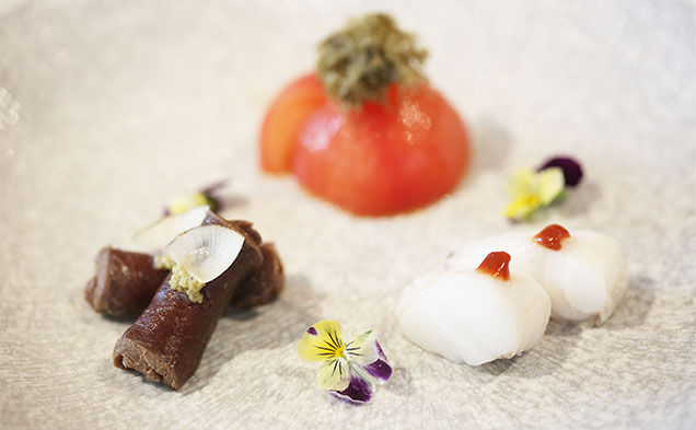 Food from Melbourne's restaurant of the year Kappo