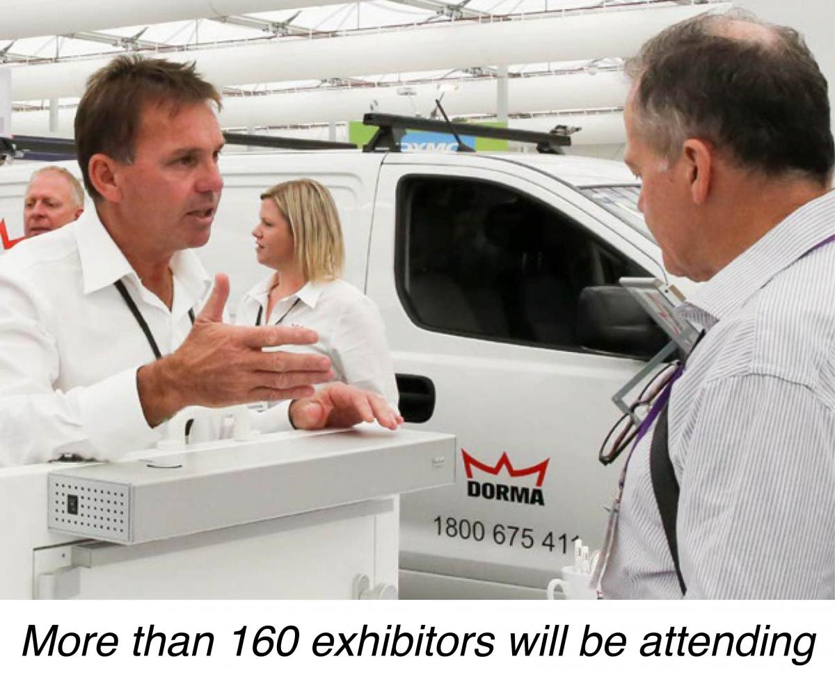 Over 160 exhibitors will be attending the Total Facilities Trade Exhibition