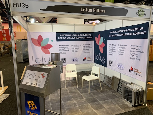 Lotus Filters at Fine Food Australia Show in Sydney 2019