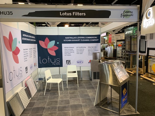 Lotus Filters exhibition at Fine Food 2019 in Sydney